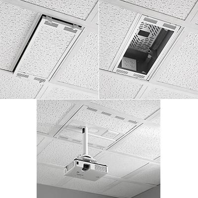 Chief Releases New Plenum Rated Ceiling Storage Boxes