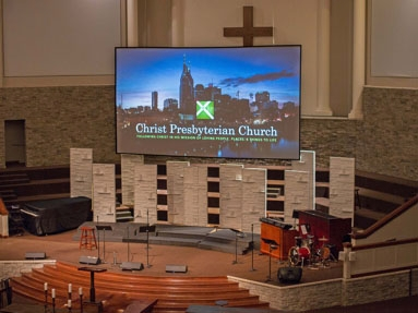 Eiki Projection Helps Christ Presbyterian Church Deliver the Message