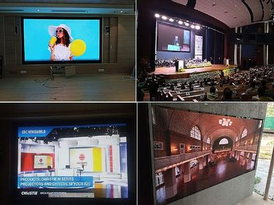 Indian clients choose Christie LED video walls