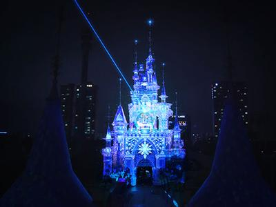 Christie solutions light up Lotte World's Magic Castle