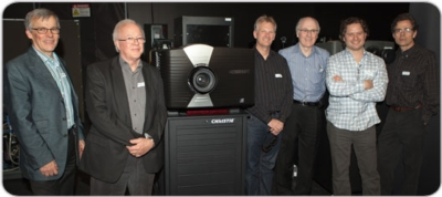 Christie Hosts Industry Heavyweights at First-Ever High Frame Rate (HFR) Laser Projection Demo