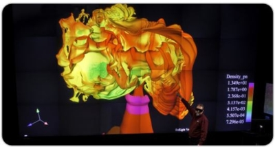 Los Alamos National Laboratory Upgrades its Powerwall Theater With Christie Visualization Projection System