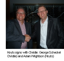 Hoyts Signs Exclusive Deal for Christie Series 2 Digital Cinema Projectors