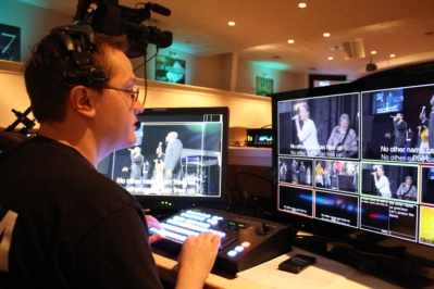 Church of Champions relies on JVC ProHD Cameras and Switcher for weekly broadcasts, webcast