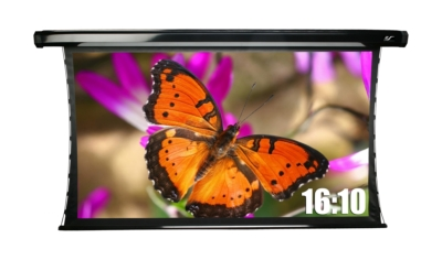 New 16:10 commercial aspect ratio screen formats are now available for Elite Screens Products