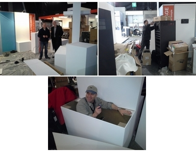 ISE 2013 EVE – JUST HOURS AWAY FROM OPENING…