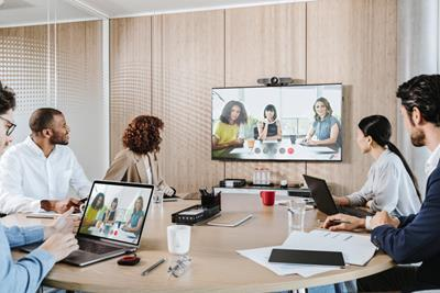 Great things happen when people click: new ClickShare Conference brings wireless conferencing to the workplace