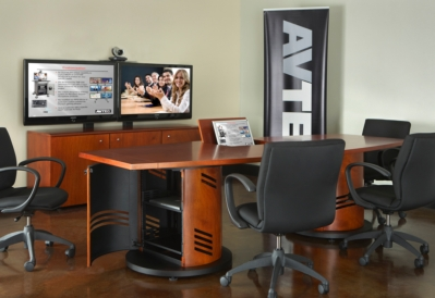 AVTEQ Introduces Conference Tables and Communications Pedestals