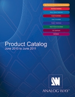 Analog Way's  2010-2011 New Product Catalog now available