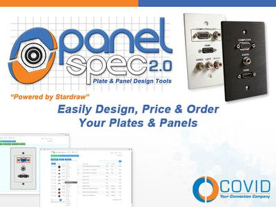 Covid Upgrades Wall Plate Design Software - Releases Panel Spec 2.0