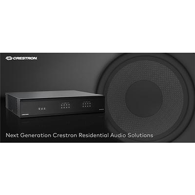 Crestron Announces New Residential Audio Solutions