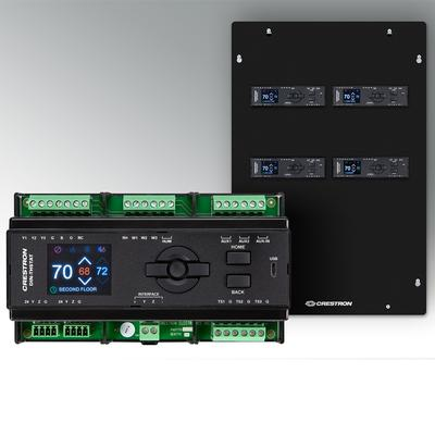 New Crestron DIN-RAIL Climate Controls Facilitate Clean Professional Installations