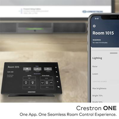 Introducing Crestron ONE App, Delivering Workplace Control from Any Personal Device