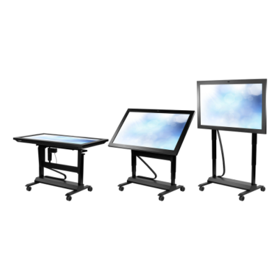 CyberTouch Introduces Mobile Lift; Mobile & Adjustable MultiTouch Tables