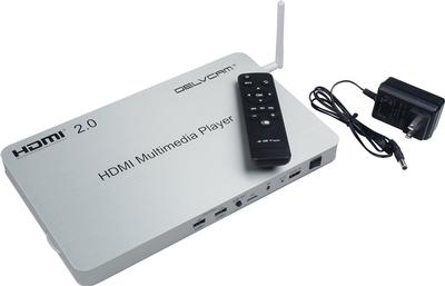 Delvcam Introduces a 4K Media Player with 10 HDMI Outputs