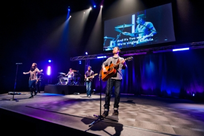 How Revolution Church Used A/V to Create Inspiring Space for Growing Congregation