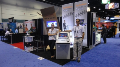 Tecom Launches New AV Lecterns with Multi-Touch Screens at InfoComm 2013