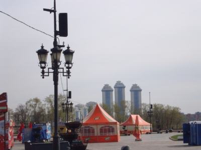 Russia Celebrates Its Victory at Moscow's Poklonnaya Gora with One Systems