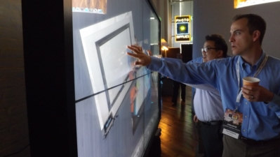 CyberTouch, Christie Digital and Vista Systems Introduce High Resolution Interactive Video Wall