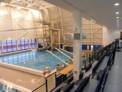Soundtrack Chooses Community Loudspeakers for World Class Diving Training Pool