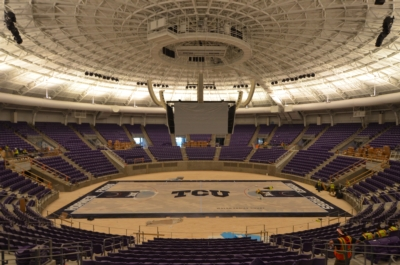 Texas Christian University updates Schollmaier Arena with Electro-Voice