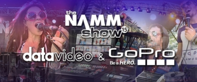 Datavideo & GoPro: 26 Bands Live At NAMM 2015