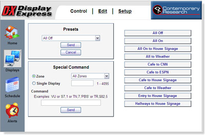 Contemporary Research Releases Display Express 3.5 Display Control Software
