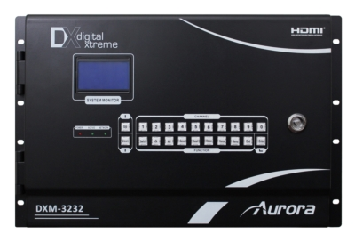 AURORA MULTIMEDIA ANNOUNCES Digital Xtreme 2nd Generation Card-Based HD Video Matrix: