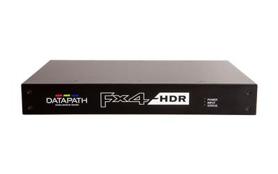 Datapath raise the bar with flagship Fx4-HDR display processor