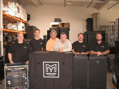 DELICATE ACQUIRES MARTIN AUDIO MLA™ SYSTEM