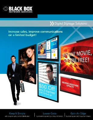 Black Box Introduces Advanced Multimedia Integrator Program for Digital Signage