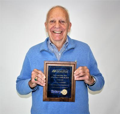 AmpliVox CEO Honored by Rotary Club