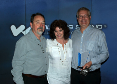 Williams Sound celebrates its top international distributor for 2014