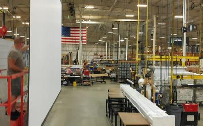 Draper Projection Screens-Designed, Engineered, and Assembled in the USA