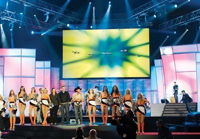 Draper StageScreen at Canadian Country Music Awards