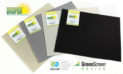 Draper Announces Cradle-to-Cradle GreenScreen Revive Fabric