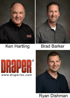 Draper Adds to AV Sales Staff