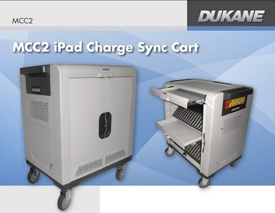 Dukane Announces New, Low Cost, I-Pad Sync/Charging Cart