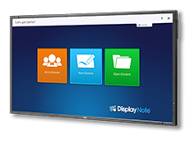 NEC DISPLAY'S E705-DNT WITH DISPLAYNOTE SOFTWARE DRIVES COLLABORATION