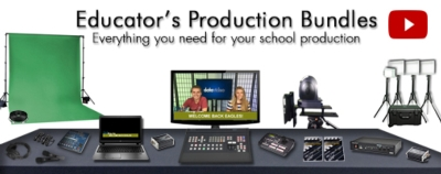 Datavideo announces the Educator's Production Bundles