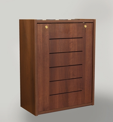 New  ELCO Wall Cabinets From Marshall have 4RU, 7 finishes