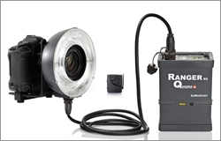 You already know that ringflashes are a terrific photographic accessory for fashion and macro work. For fashion work the light strikes the subject and