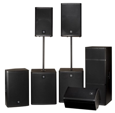 Serious Sound: Electro-Voice launches Live X loudspeaker series at Winter NAMM 2011 (Booth 6569)