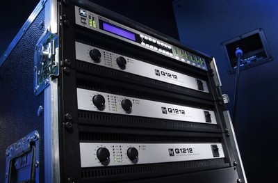 New at InfoComm 2009: Q Series Amplifiers