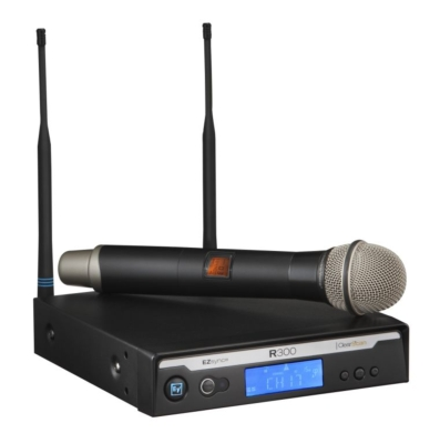 Electro-Voice presents the R300 wireless microphone system at InfoComm 2011, booth 1201