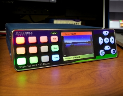 Ensemble Designs To Show New Compact Clean Switching Router at InfoComm