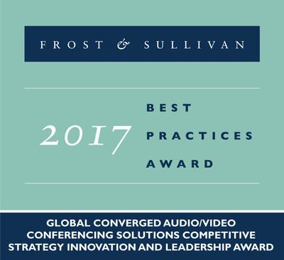 Frost & Sullivan Recognizes ClearOne® for Converged Audio and Video Conferencing Innovation and Strategy Leadership