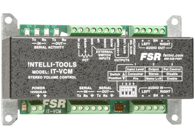 FSR ADDS IT-VCM VOLUME CONTROL MODULE TO THE INTELLI-TOOL FAMILY