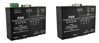 "FSR to Launch Enhanced ""Green"" D/As at InfoComm 2012"