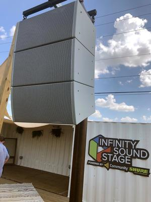 Infinity Sound Installs Biamp's Community Loudspeakers for Live and BGM at FireHouse Gastro Park